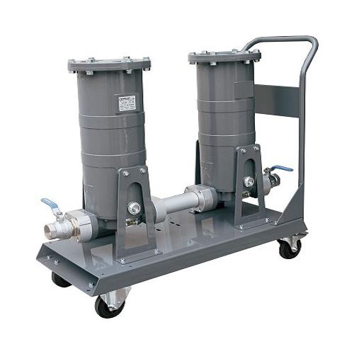 Мобильный сепаратор очистки дизельного топлива, бензина, керосина Gespasa Mobil filtering kit FG 300х2