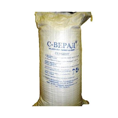 Сорбент для нефтепродуктов С-ВЕРАД 9 кг