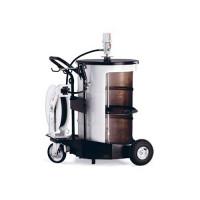 Пневматический солидолонагнетатель с насосом PM3+3 с катушкой для бочек 185 кг
