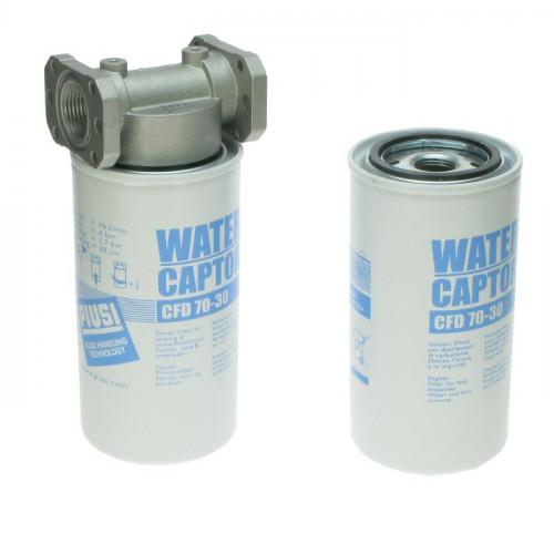 """Водопоглощающий фильтр 70л/мин : 2 катриджа, крепление для фильтра 1"""""""