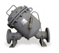 Фильтр ФЖУ-100/0,6 (от 50 мкм, усл. пр. 100 мм, масса 20 кг, с инд. загряз.)
