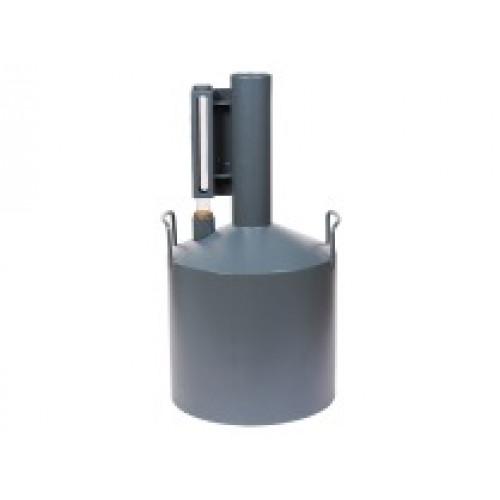 Мерник 2-ого разряда из нержавеющей стали М2Р-10-01, без пеногасителя, верхний слив